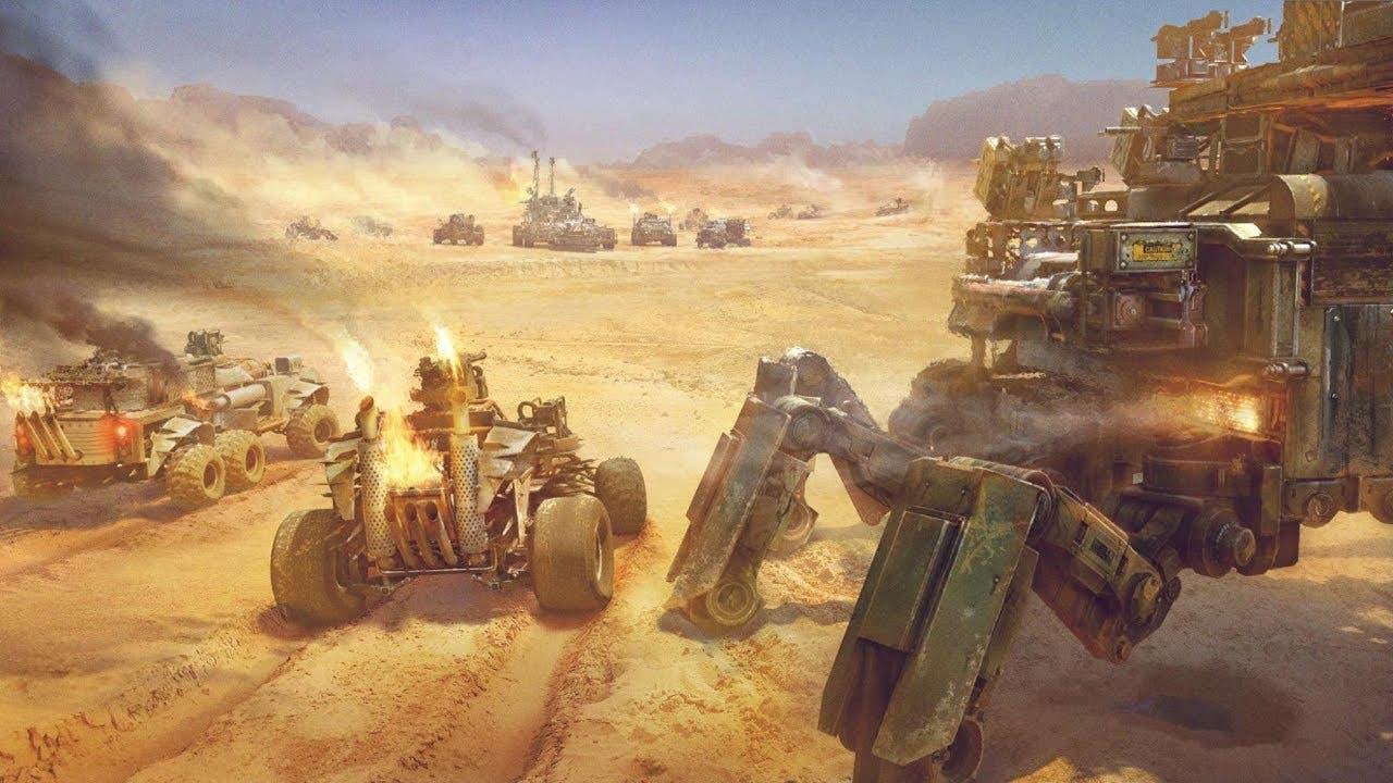 crossout gets new clan wars mode