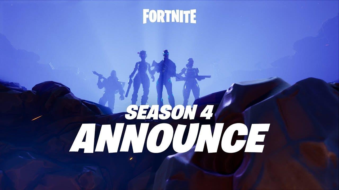 fortnite season 4 begins today w