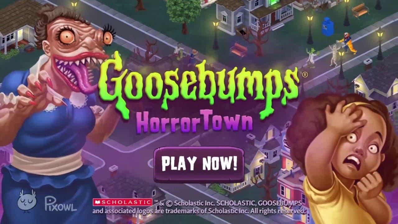 goosebumps horrortown comes to m