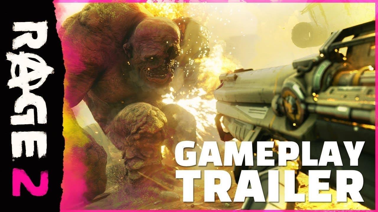 rage 2 gameplay trailer unleashe