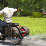 Serious Sam 4 Motorcycle Shot
