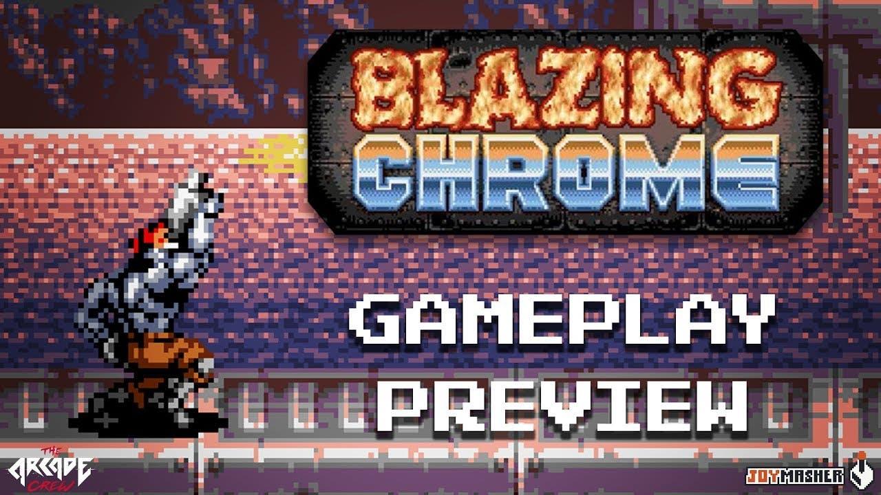 blazing chrome the contra metal