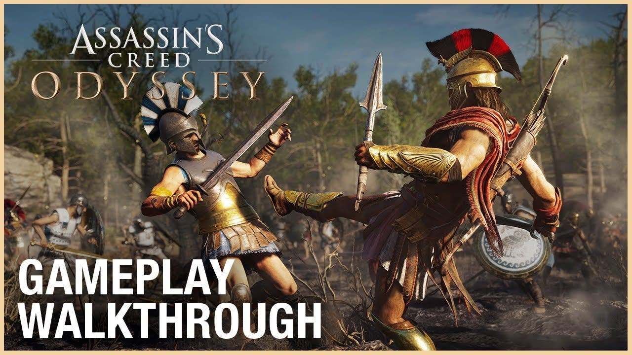 E3 2018 Assassin S Creed Odyssey Shown Via Gameplay Demo At