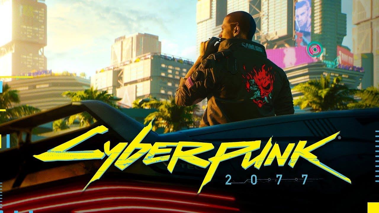 e3 2018 cyberpunk 2077 from cd p