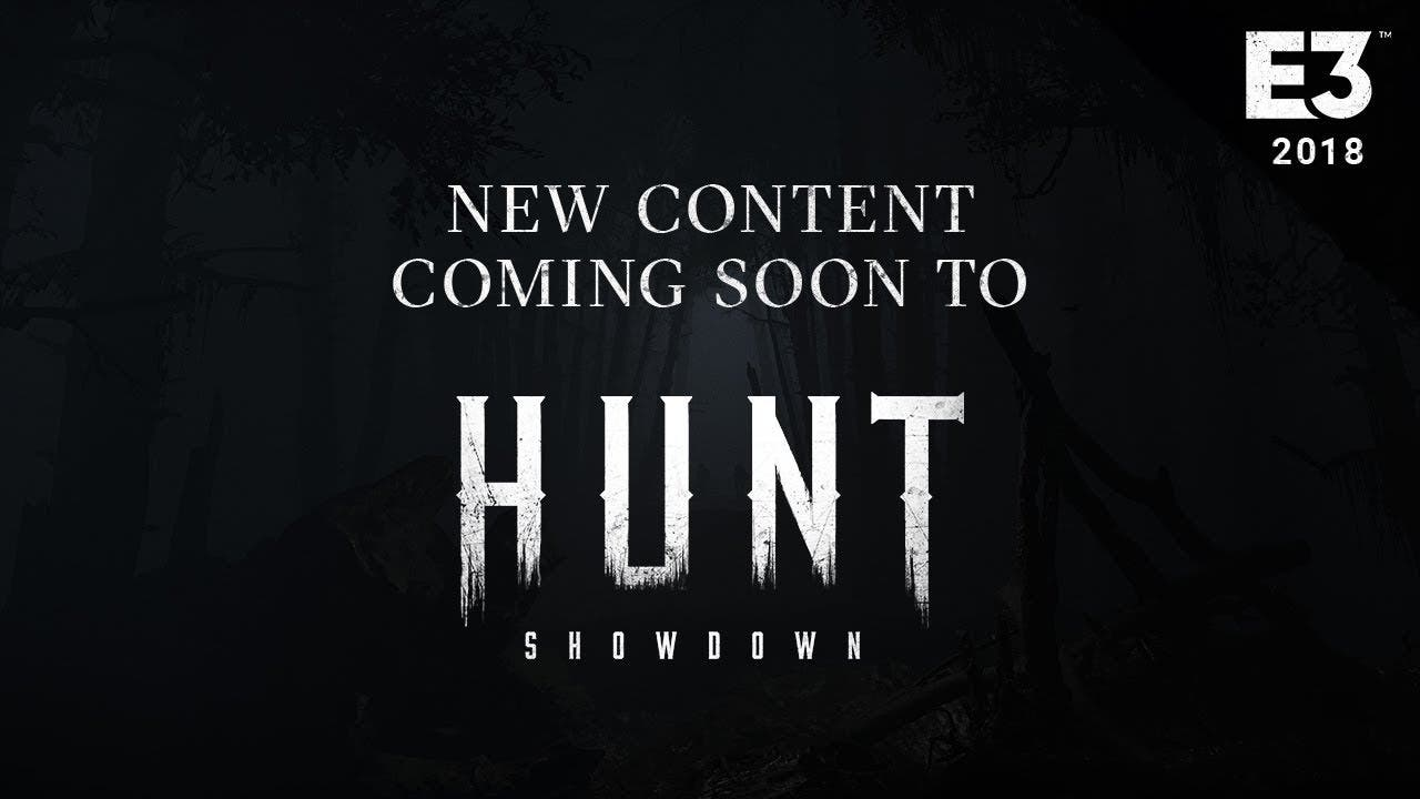 e3 2018 hunt showdown content up