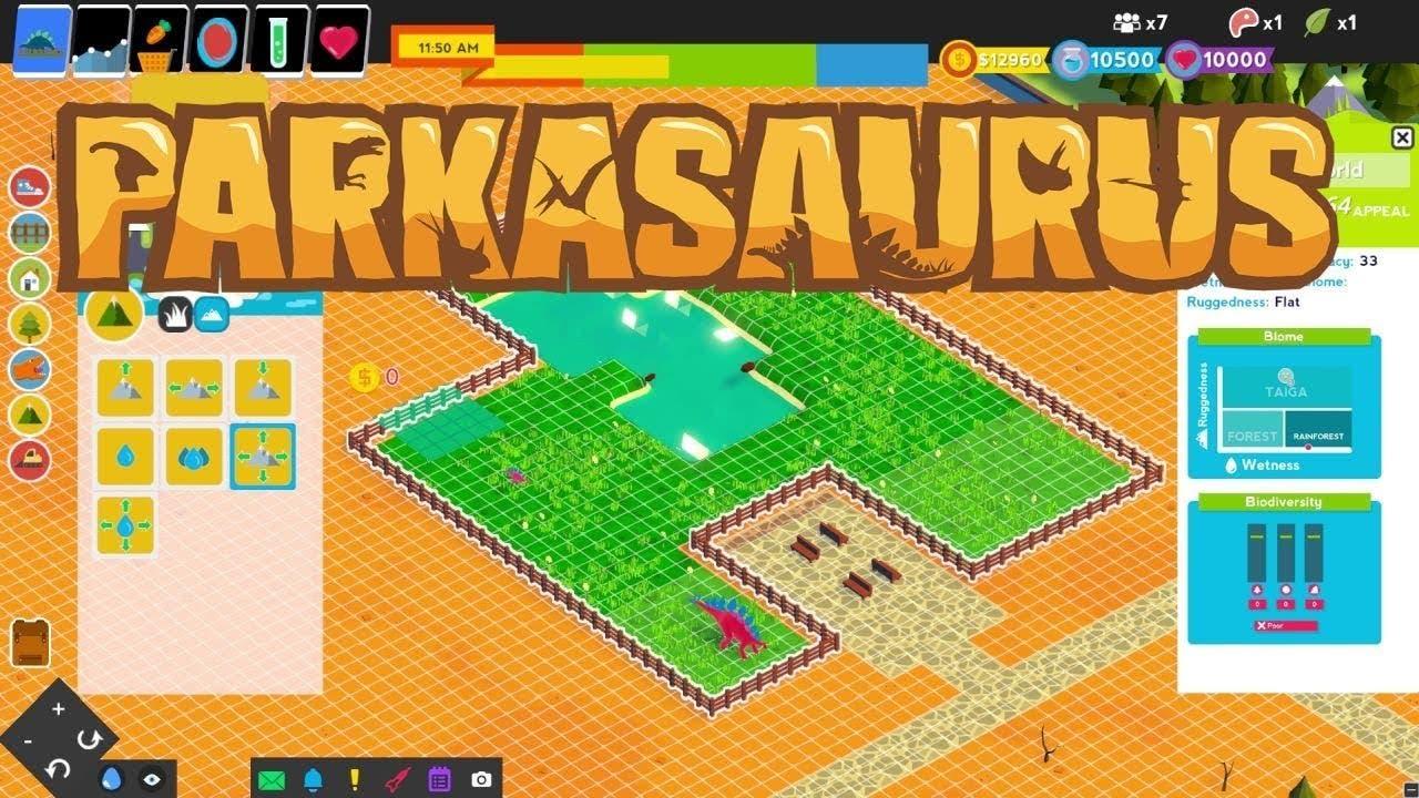 parkasaurus developer gameplay c