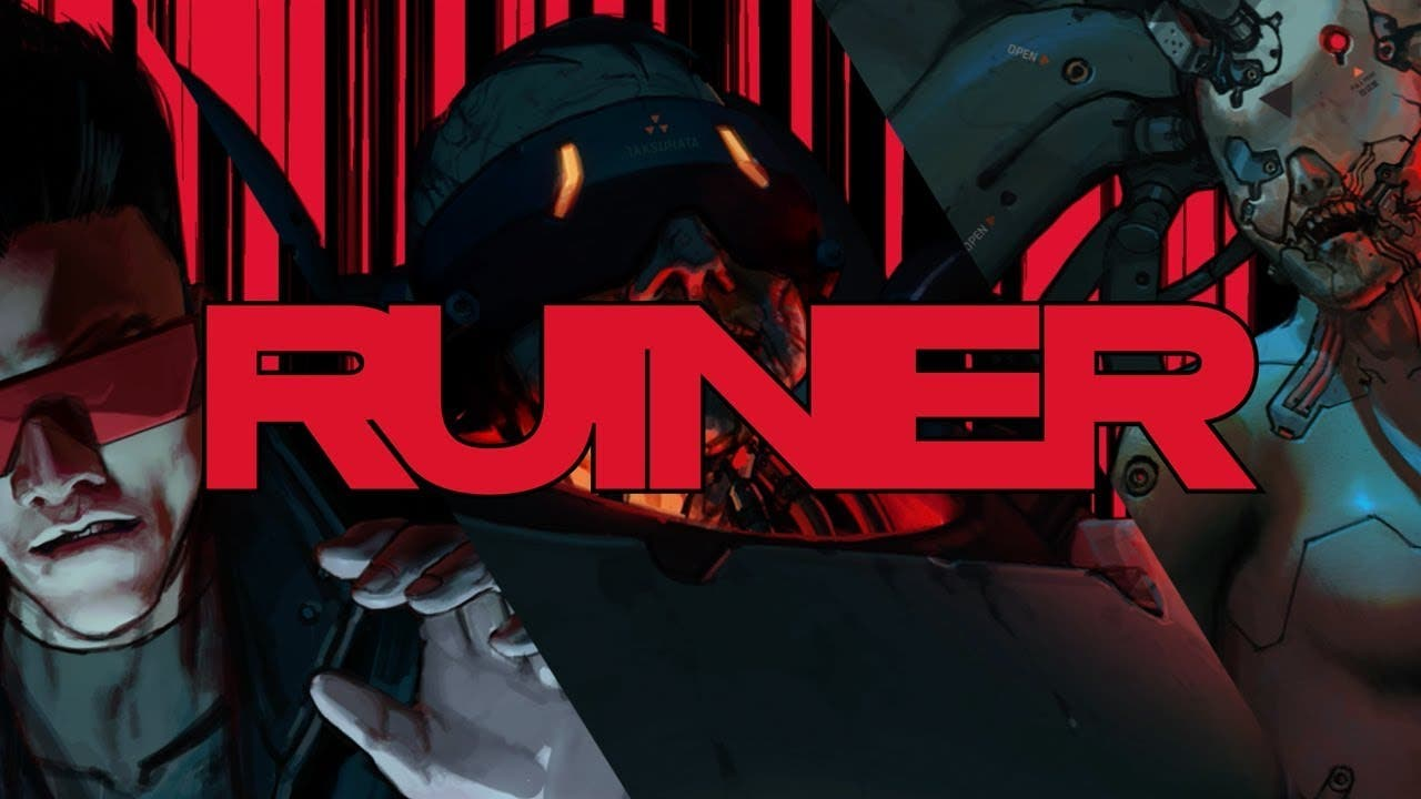 ruiner trailer goes over the bos