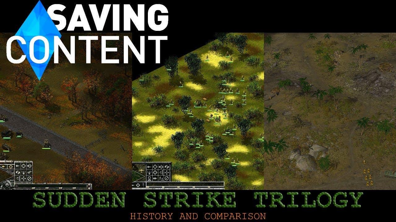 sudden strike trilogy a history