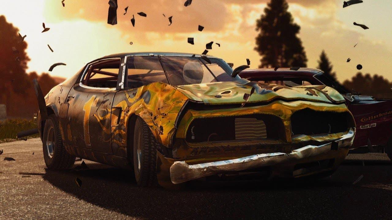 wreckfest launch trailer is full