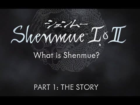 attend shenmue 101 for the story