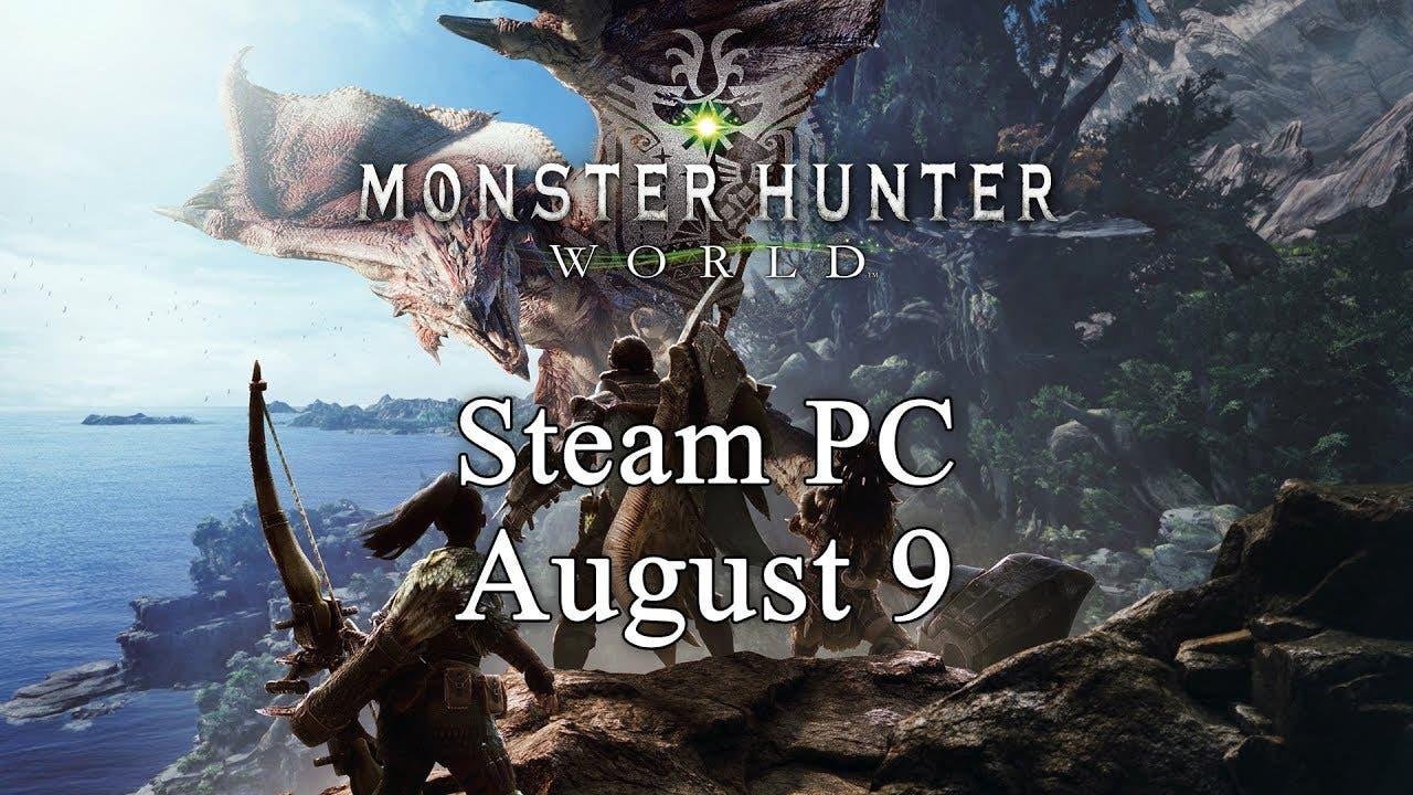 monster hunter world is coming t