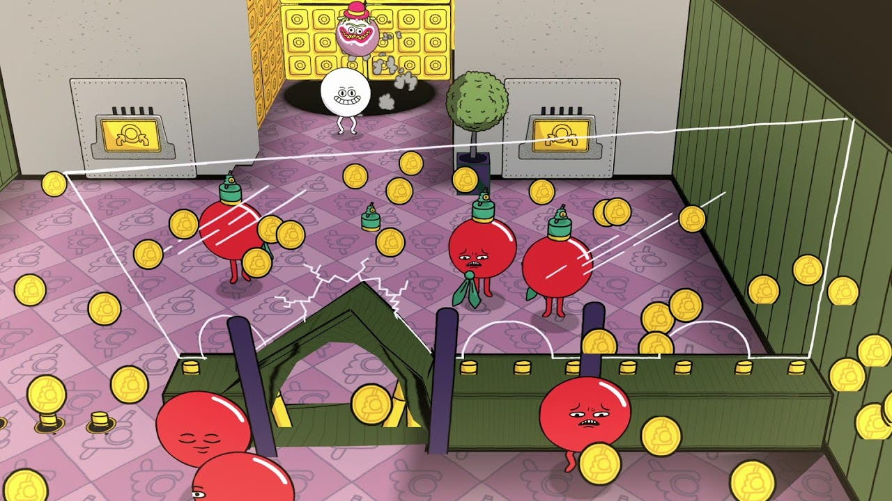 pool panic is a billiards game t