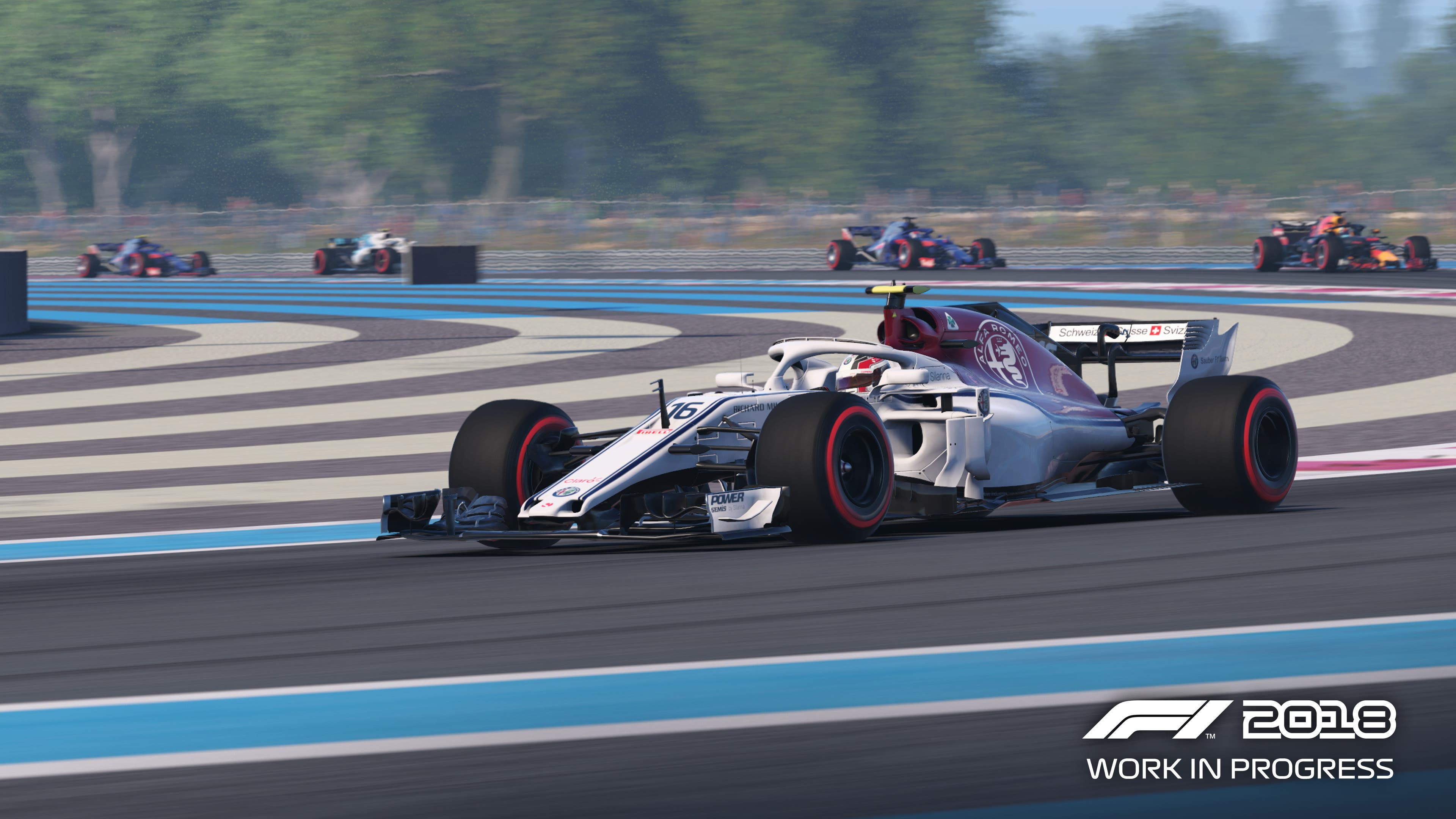 F1 2018 Review - Saving Content