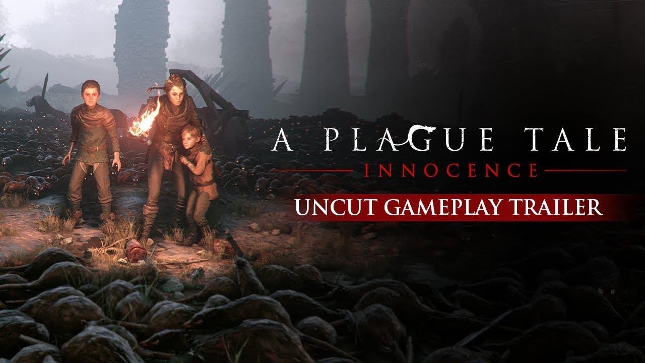 a plague tale innocence trailer