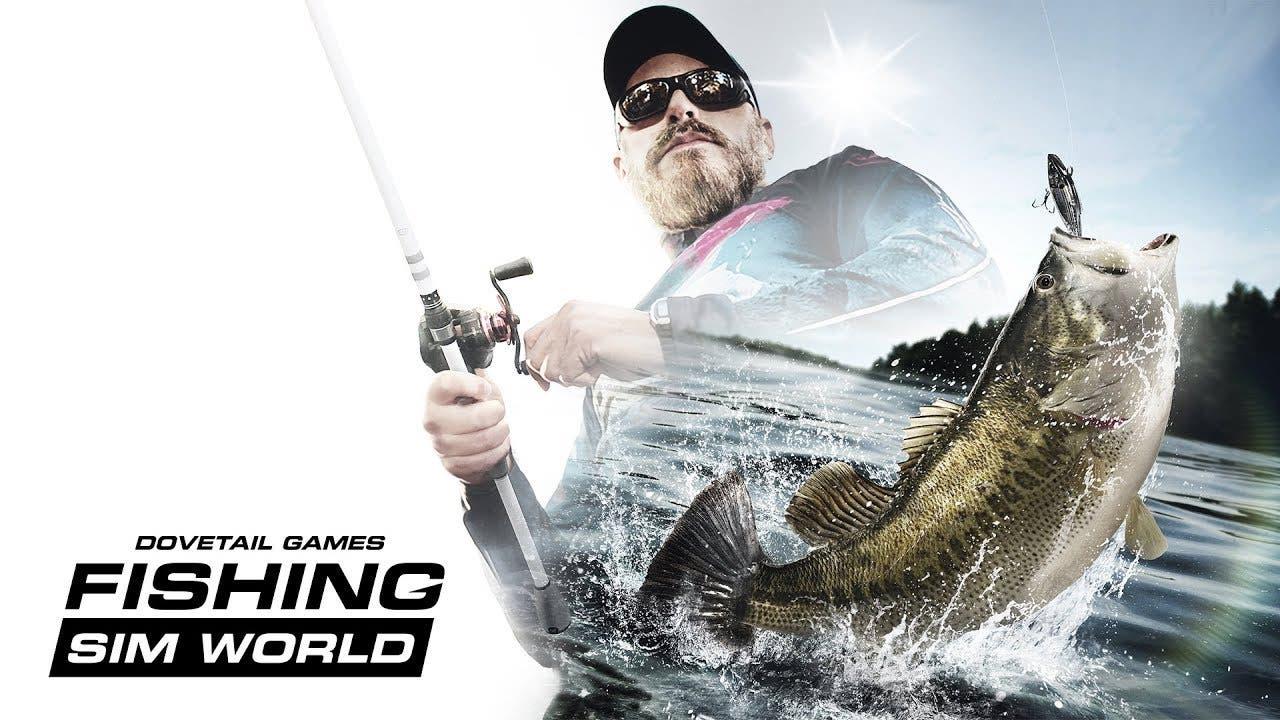 fishing sim world casts a line f