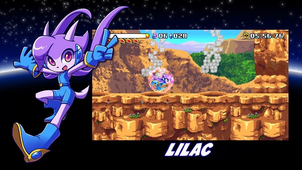 freedom planet is jumping onto n
