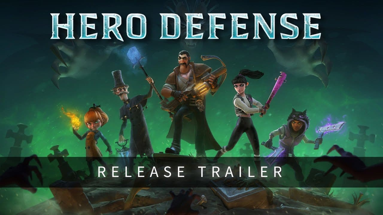 hero defense is out today for pc