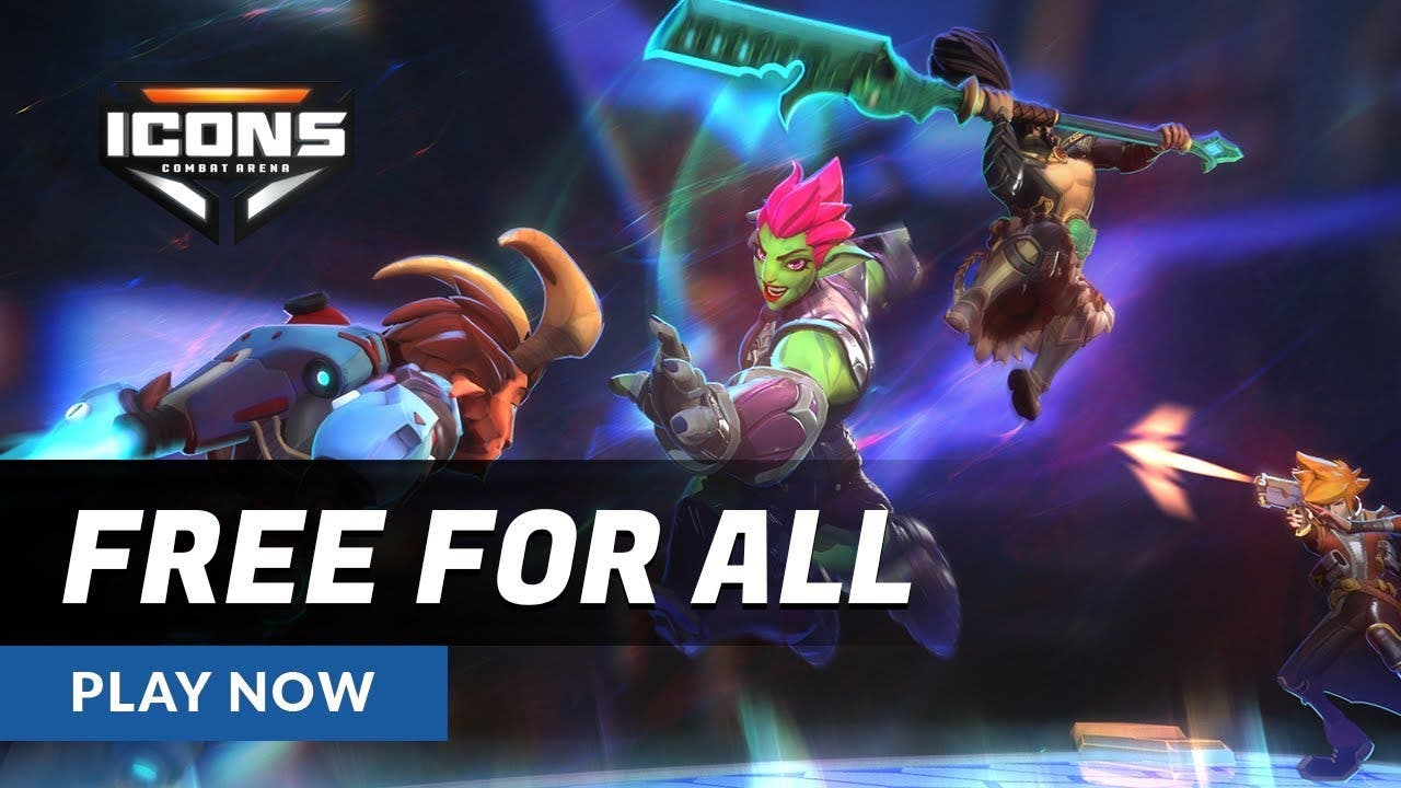 icons combat arena gets free for