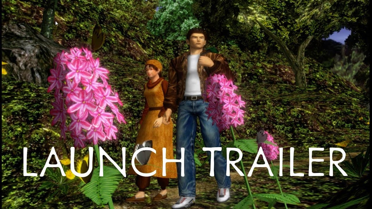 shenmue i ii is available today