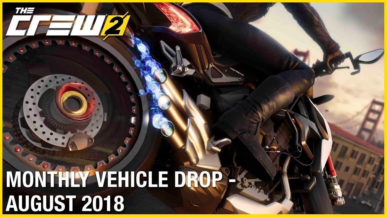 the crew 2s august vehicle drop