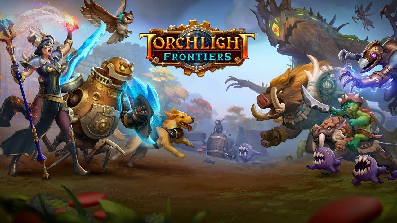 torchlight frontiers announced i