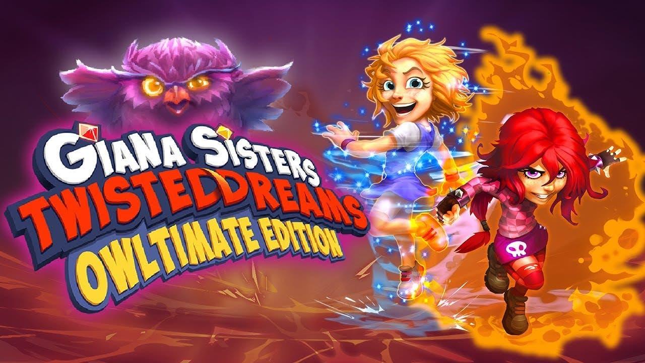 giana sisters twisted dreams owl
