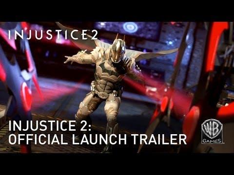 injustice 2 launch trailer featu