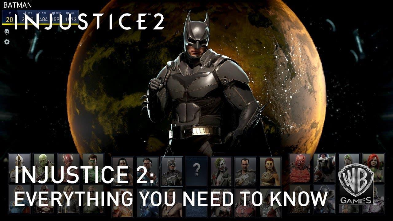 injustice 2 trailer teaches ever