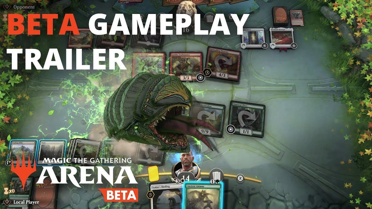 magic the gathering arena is now