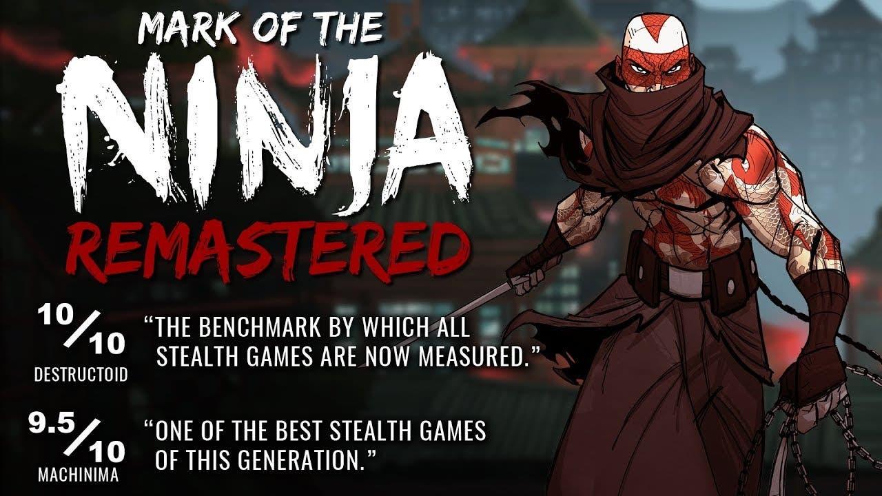 mark of the ninja remastered sne