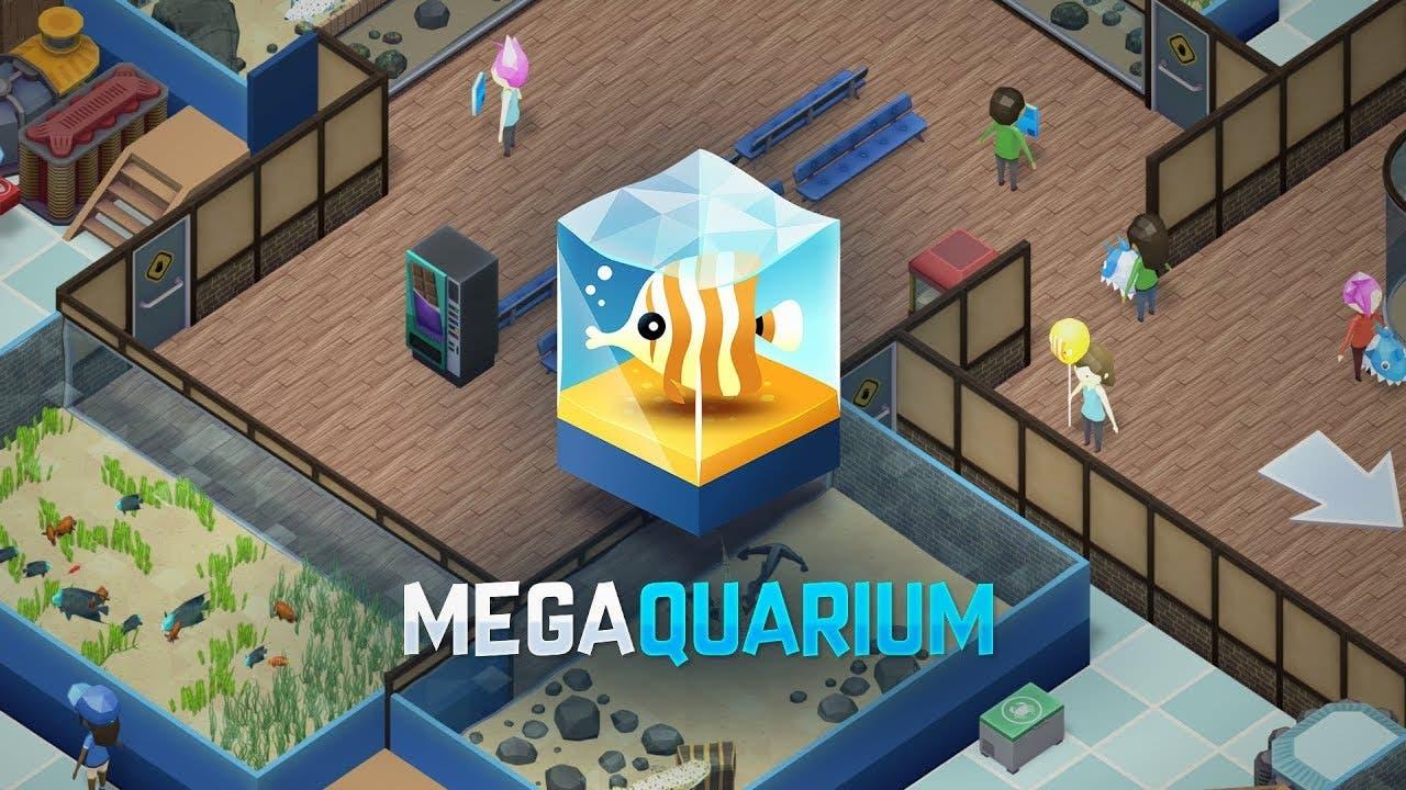 megaquarium splashes onto steam