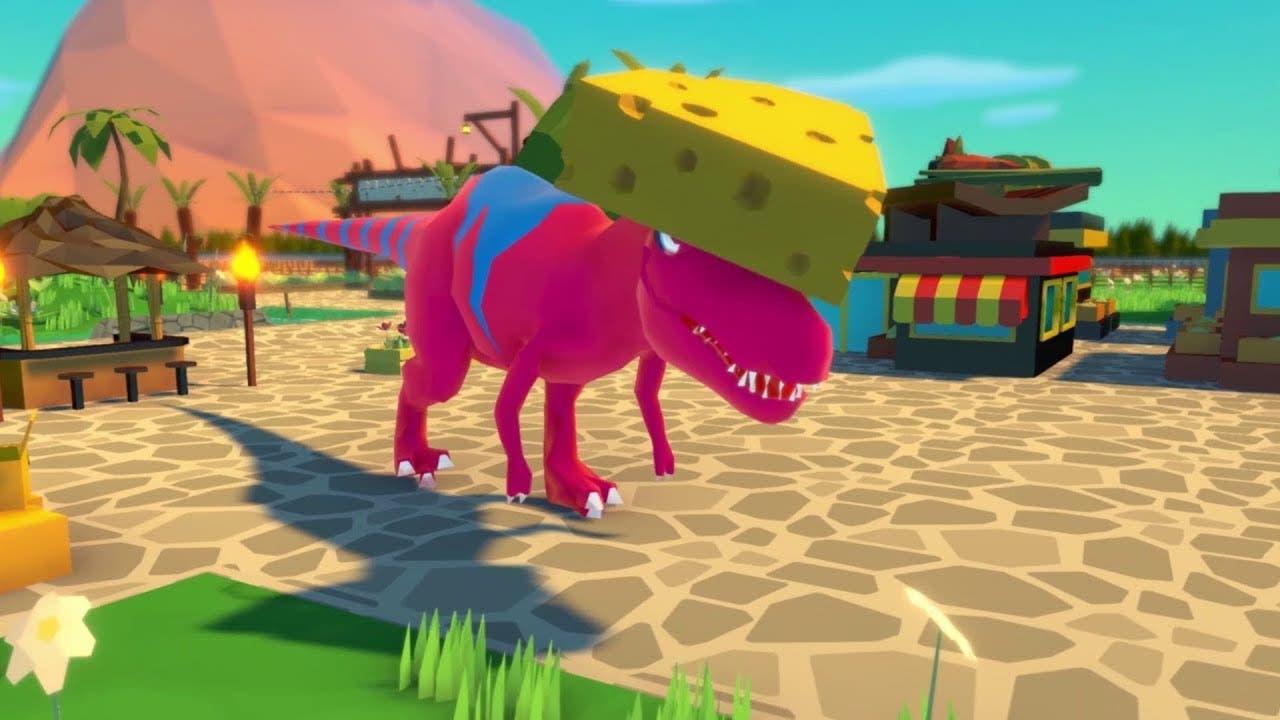 parkasaurus enters steam early a