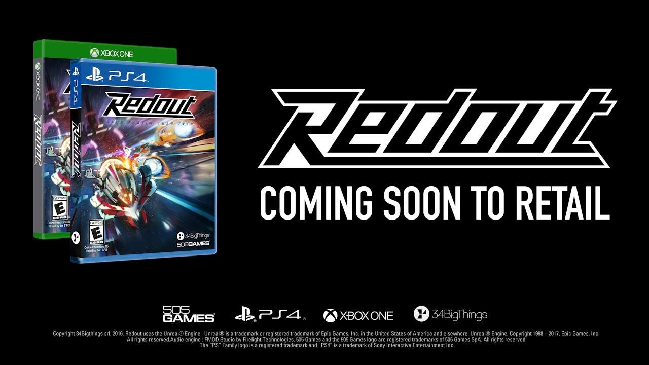 redout lightspeed edition coming