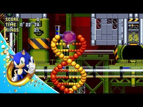 sonic mania chemical plant zone