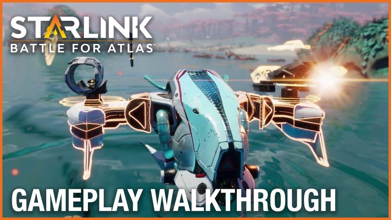 starlink battle for atlas video