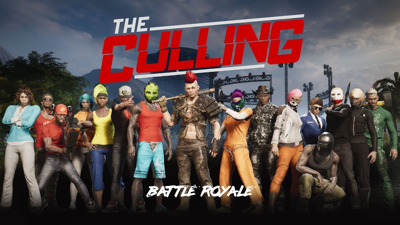 the culling a battle royale game