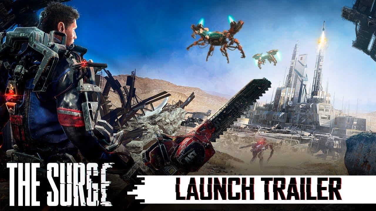 the surge launch trailer comes a