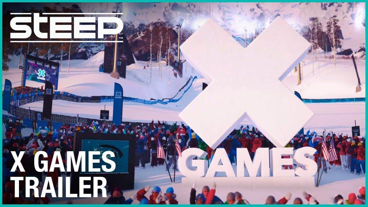 the x games are coming to steep