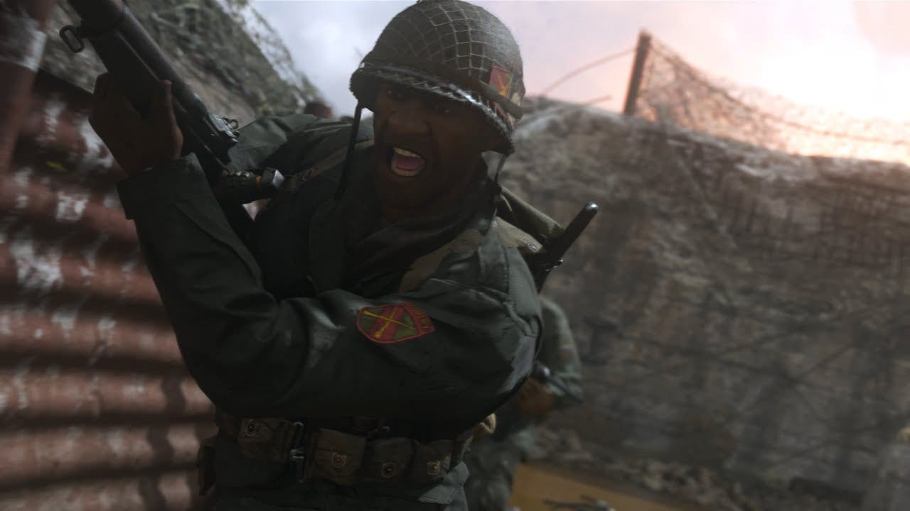 watch the call of duty wwii mult