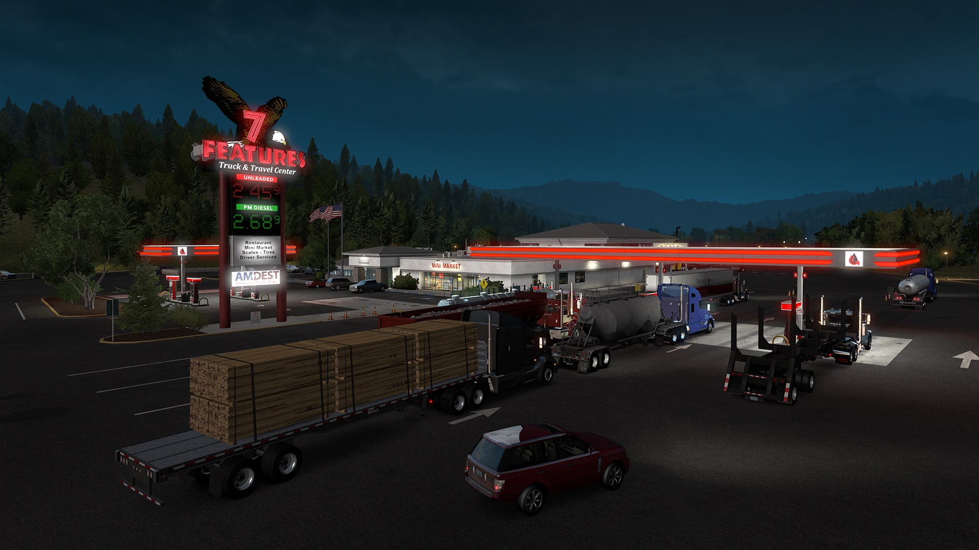 American Truck Simulator - Oregon Review - Saving Content