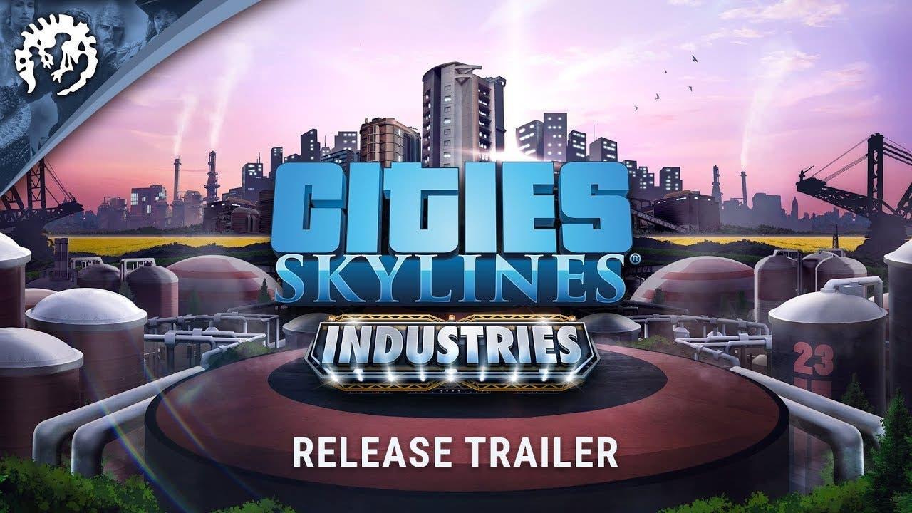 cities skylines industries is av