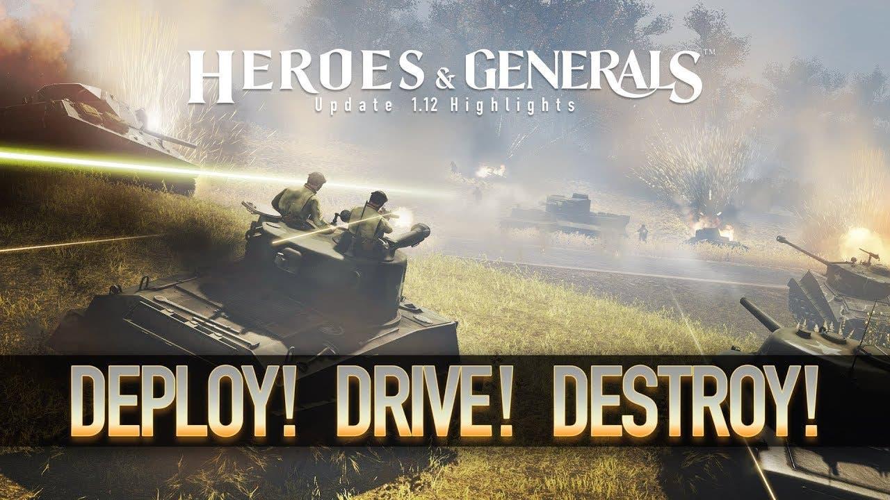 heroes generals sees biggest upd