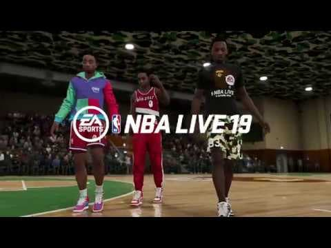 nba live 19 celebrates basketbal
