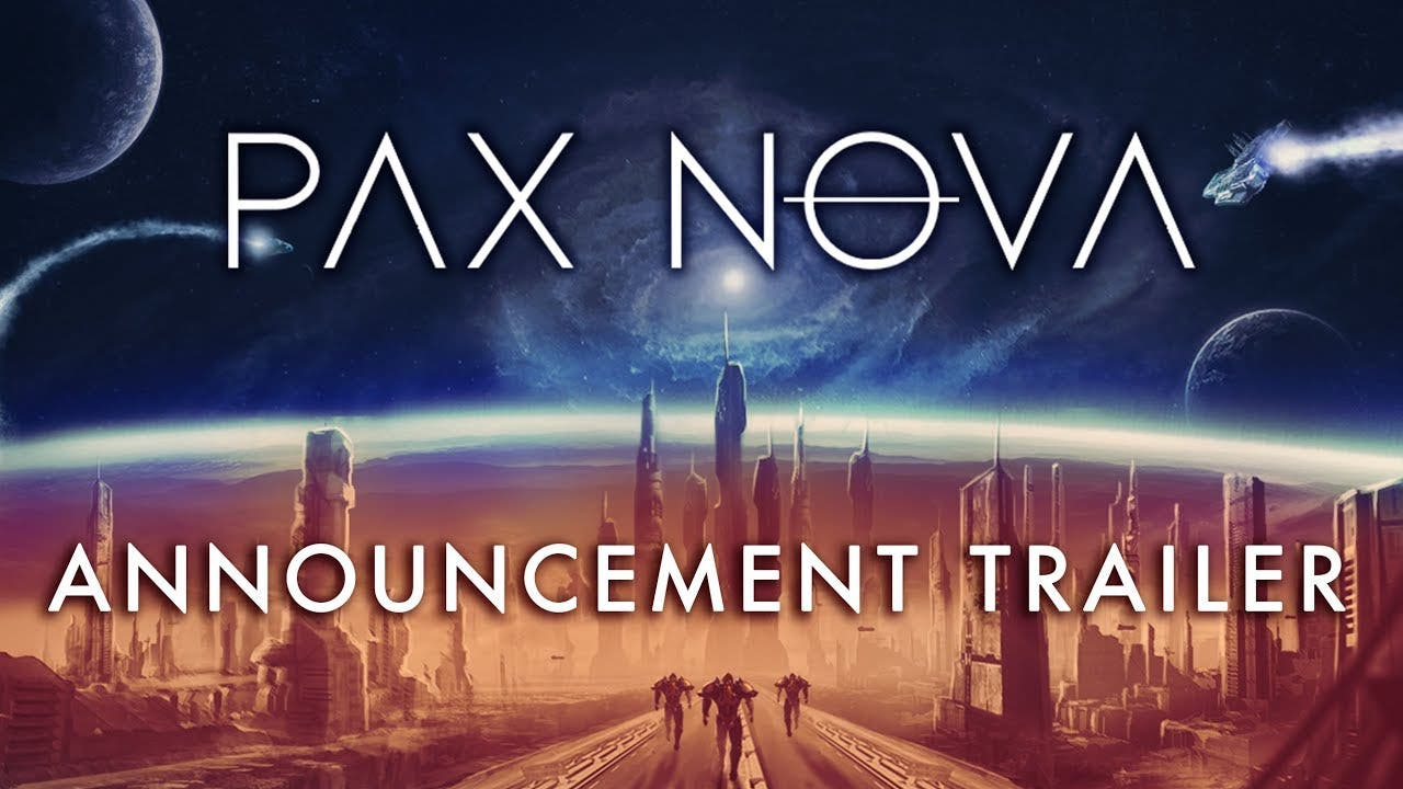 pax nova announced a new sci fi