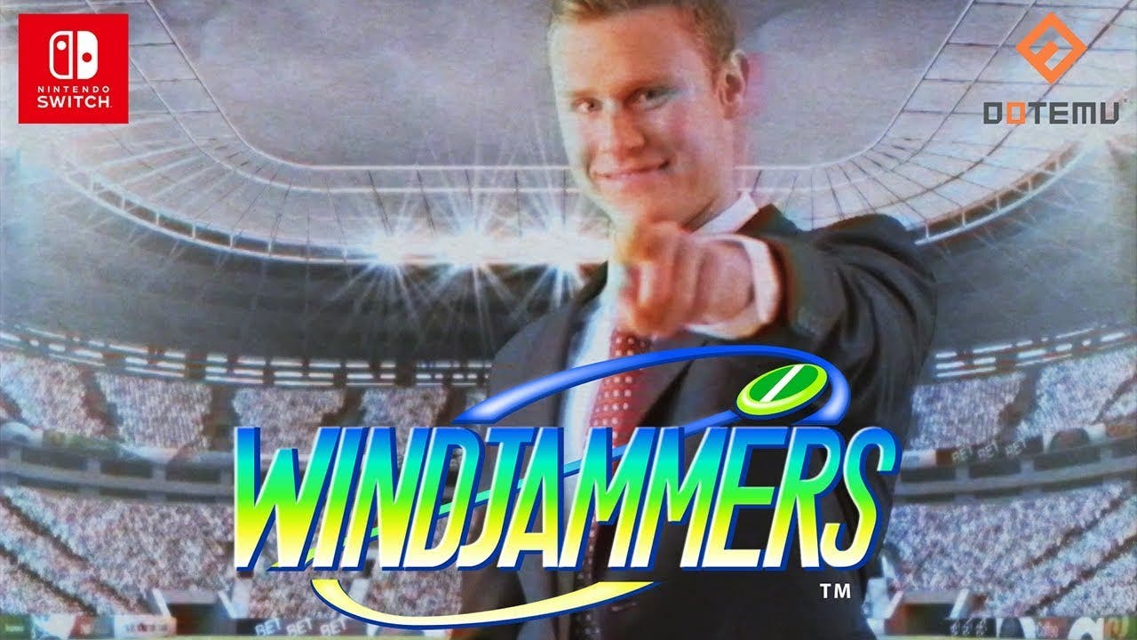 windjammers now available on nin