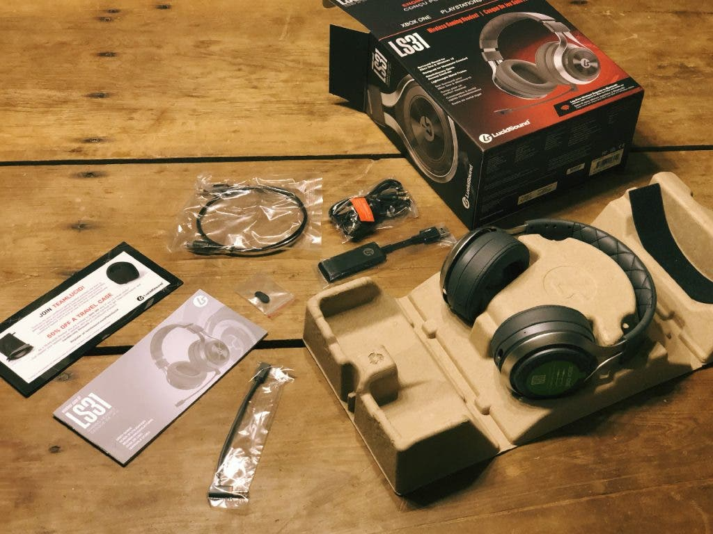 LS31 Headset and Accessories