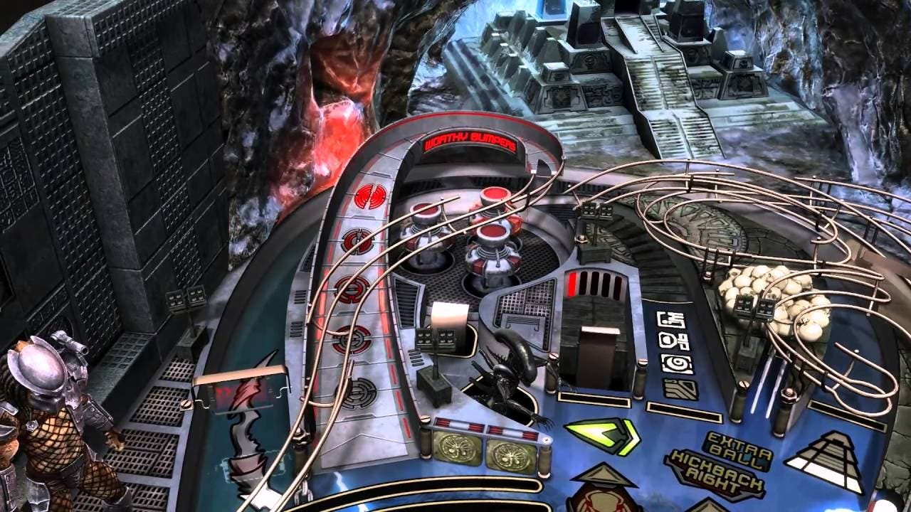 aliens vs pinball launches today