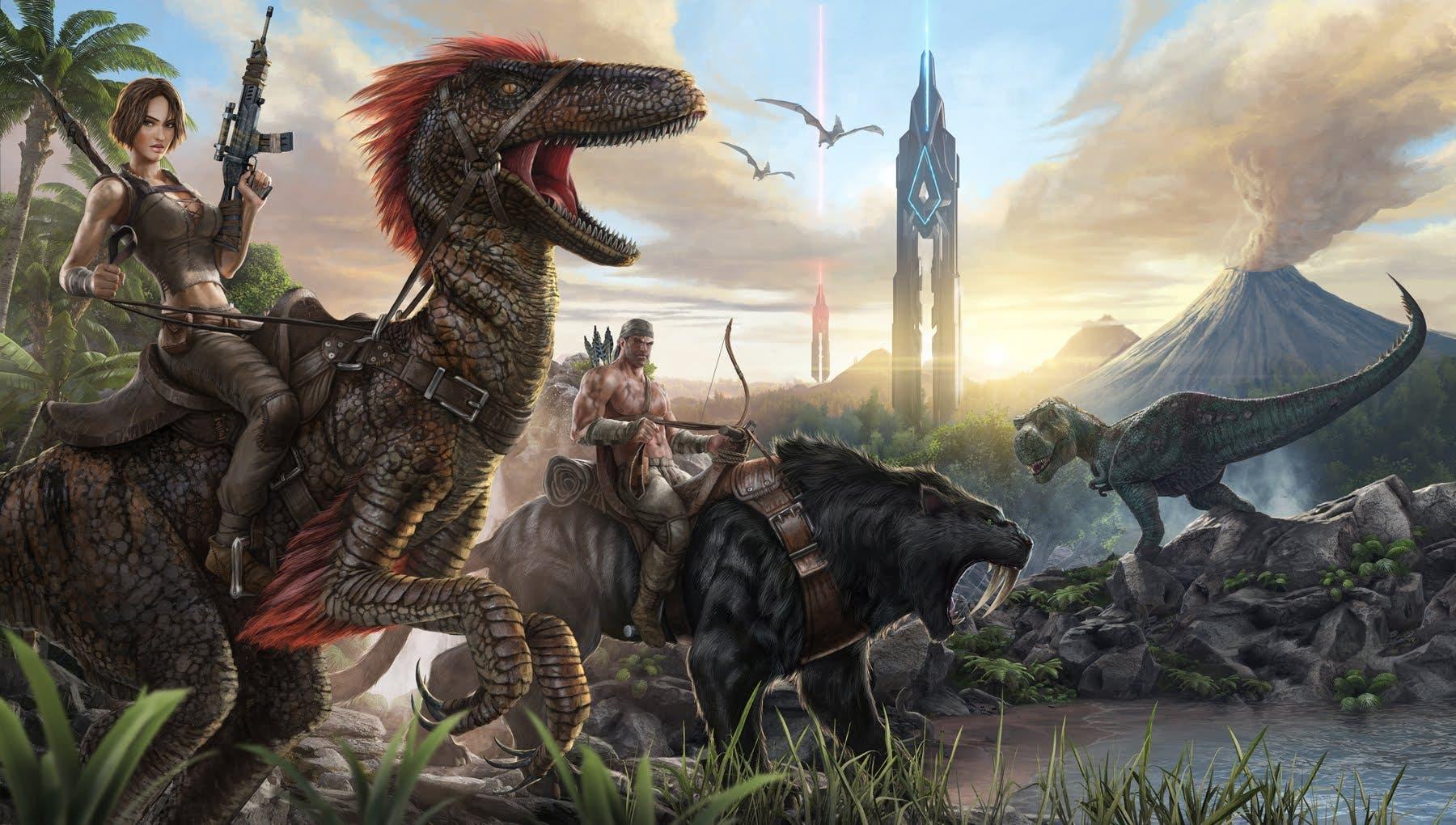 ark survival evolved first gamep