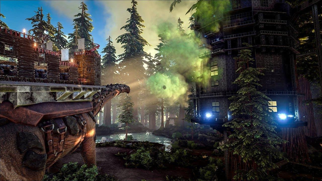 ark survival evolved gets titano