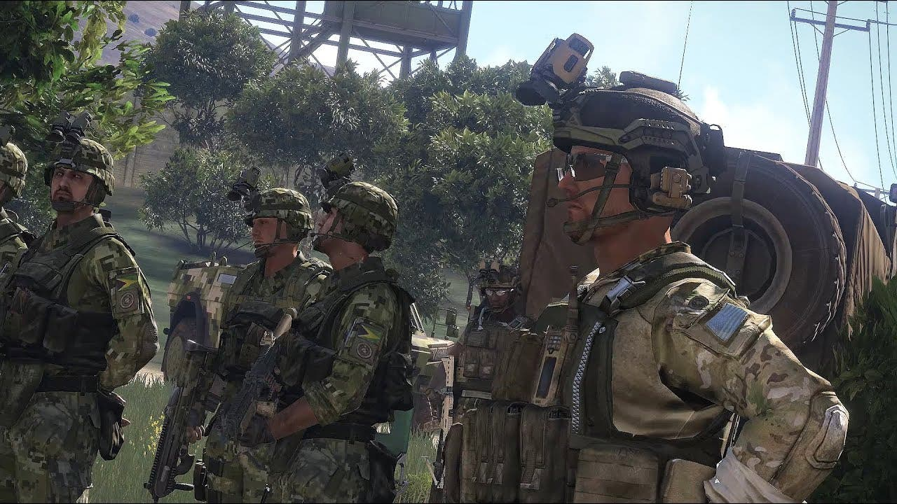 arma 3 goes to bootcamp to teach